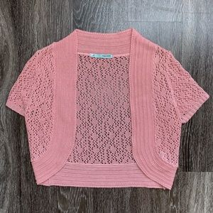 Maurices Pink Cardigan